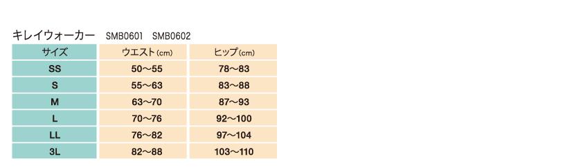 キレイウォーカーサイズ
